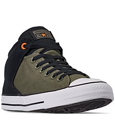 0e1e79efd8 Converse Men s Chuck Taylor All Star High Street Casual Sneakers from  Finish Line