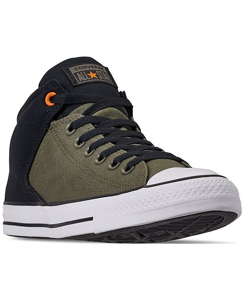 decf98f76504 ... Converse Men s Chuck Taylor All Star High Street Casual Sneakers from  Finish ...