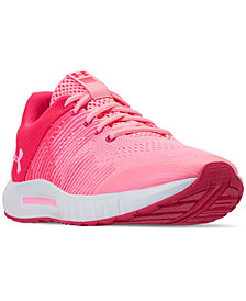 Under Armour Girls' Pursuit Athletic Sneakers from Finish Line