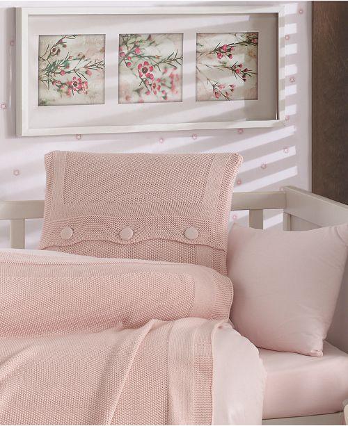 Nipperland Venice Natural Cotton Crib Bedding Set 5 Piece