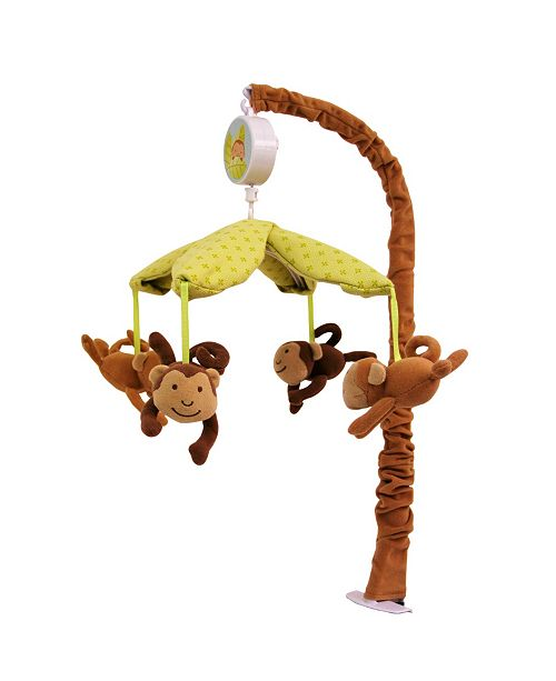 3 Stories Trading 3Stories Nurture Swinging Monkeys Crib Mobile