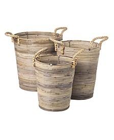 Durant Rattan Basket Set of 3