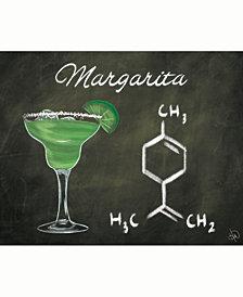 "Margarita Chalkboard Formula 20"" x 24"" Acrylic Wall Art Print"