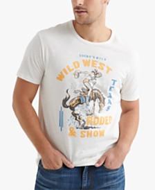 Lucky Brand Men's Rodeo Show Logo Graphic T-Shirt