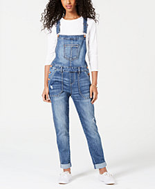 American Rag Skinny Fit Overalls, Created for Macy's