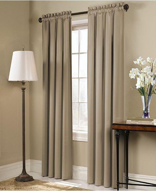 "United Curtain Co Inc Blackstone 54"" X 84"" Window Panel"