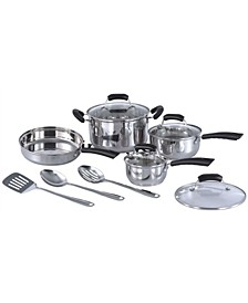 SPT 11pc Stainless Steel Cookware set
