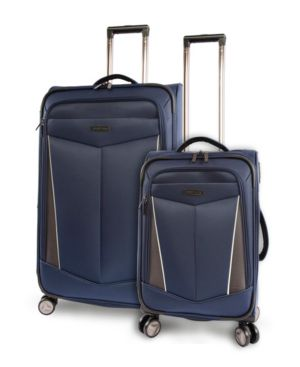 PERRY ELLIS | Perry Ellis Glenwood 2-Piece Luggage Set | Goxip