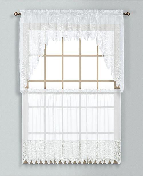 United Curtain Co Inc Valerie 52 Quot X 36 Quot Kitchen Tier Pair