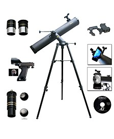 Cassini 1000 X 120mm Astronomical Tracker Mount Telescope and Smartphone Adapter