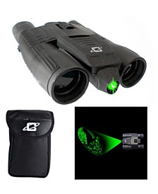 12 Power Day Night Green Laser Binocular with 32mm Lens and Tripod Socket
