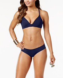 Vince Camuto Molded Bikini Top & Cheeky Bottoms