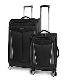 Perry Ellis Glenwood 2-Piece Luggage Set