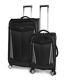 Perry Ellis Glenwood 2-Piece Luggage Set
