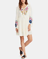 b885a7056a44 Free People Spell On You Embroidered Keyhole Dress