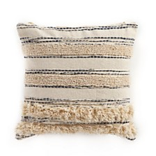 LR Home Stipe Luxury Throw Pillow