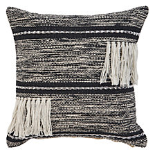 LR Home Ombre Fringe Throw Pillow