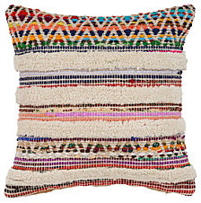 LR Home Chevron Striped Throw Pillow
