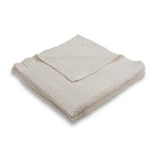 LR Home Sweater Weather Sparkle Knitted Throw Blanket