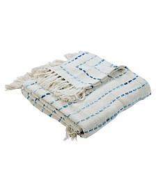 LR Home Oceanic Decorative Throw Blanket