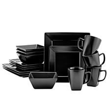 Quadro 16Pc Dinnerware Set