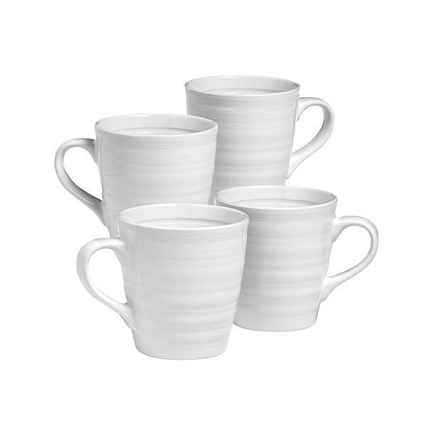 Over and Back Farmhouse Mugs - Set Of 4