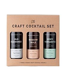 8 Oz Cocktail Syrup Set