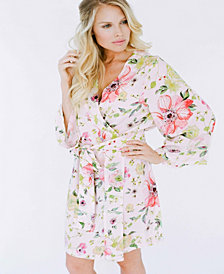 Plum Pretty Sugar Kimono Knee Length Robe