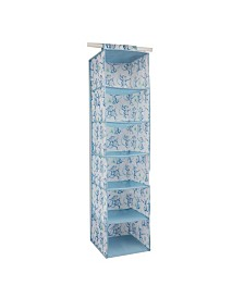 Laura Ashley Kids 6 Shelf Hanging Organizer in Cheeky Monkey
