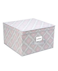 The Macbeth Collection Closet Candie Jumbo Storage Box in Ikat