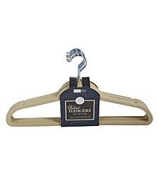 10 Super Slim Velvet Huggable Hangers