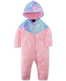 Nike Baby Girls Unicorn Rainbow Therma Coverall