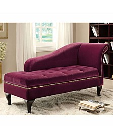 Glorious Contemporary Fabric Storage Chaise