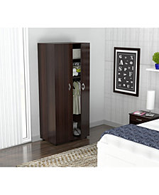 Inval America Two Door Wardrobe/Armoire