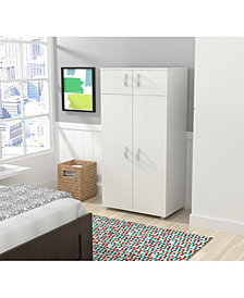 Inval America Four Door Wardrobe/Armoire
