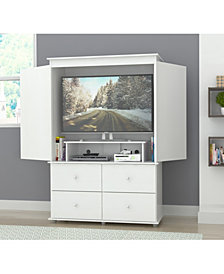 Inval America Armoire/AV Video Combo Cabinet