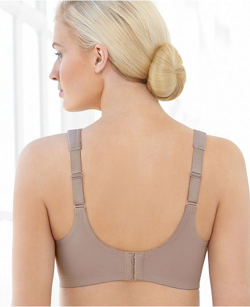 abeeba2773ef7 Glamorise Women s Full Figure MagicLift Embroidered Wirefree Bra ...