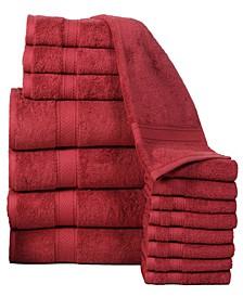 Soft and Luxurious Cotton 16 Piece Towel Set