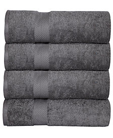 Elegance Spa Oversized Luxurious Cotton Oversized Bath Sheets (Set of 4)