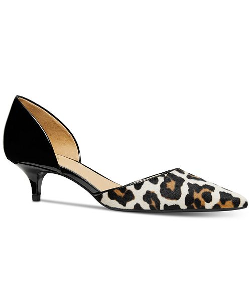 fd5bf31f74a Michael Kors Alba Flex Kitten-Heel Pumps   Reviews - Pumps ...