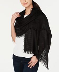 DKNY Lightweight Open Weave Scarf