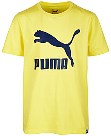 Puma Big Boys Logo-Print T-Shirt