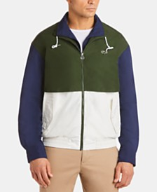 Lacoste Men's Lightweight Colorblocked Jacket