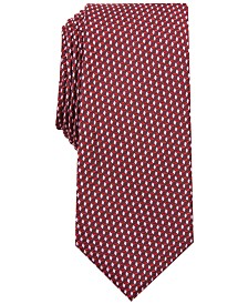 Alfani Men's Neat Slim Tie, Created for Macy's