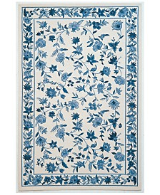 "KAS Colonial Floral 8' x 10'6"" Area Rug"