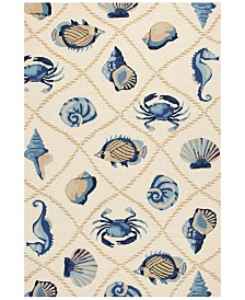 KAS Harbor Seaside 2' x 3' Indoor/Outdoor Area Rug