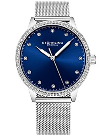 Original Women's Silver Case and Mesh Bracelet, Silver Dial Watch