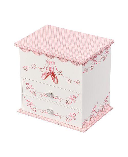 Mele & Co Angel Girl's Musical Ballerina Jewelry Box