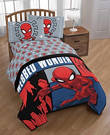 Spiderman Webbed Wonder 4-Pc. Twin Bed in a Bag