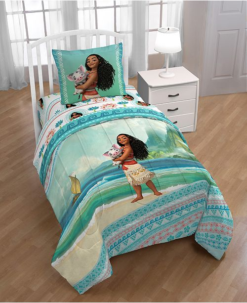 Disney Moana The Wave 2-Pc. Twin Comforter Set